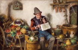 Kern Hermann - Olvasó férfi, 1903