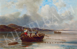 Böhm Pál - Halászok