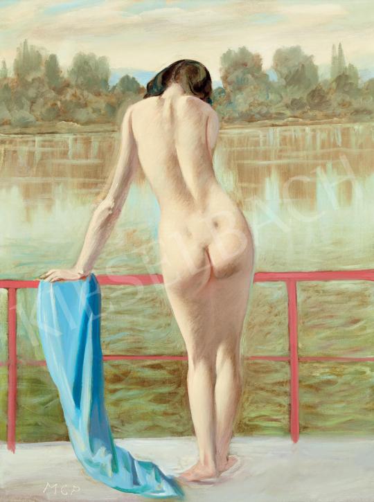 Molnár C. Pál - A vörös korlát | 55. Tavaszi Aukció aukció / 142 tétel