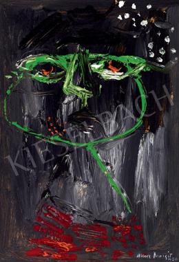 Anna Margit - Zöld fej (Tekintet), 1950