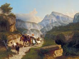 Markó, András - Italian Landscape, 1870