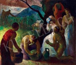 Patkó Károly - Szüret (Nagybánya), 1926