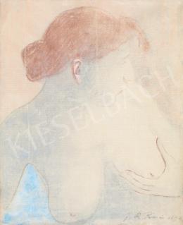 Rippl-Rónai József - Vörös hajú párizsi modell,1892