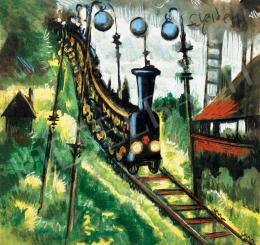 Scheiber Hugó - Vonat, 1930-as évek