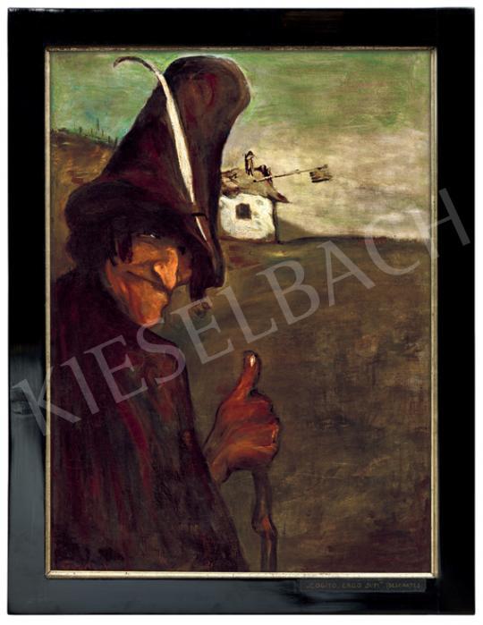 Gulácsy Lajos - Cogito ergo sum (A falu bolondja), 1903 | 55. Tavaszi Aukció aukció / 201 tétel