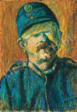 Nagy István - Sebesült katona, 1916