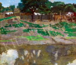 Fényes Adolf - Szolnoki táj, 1899