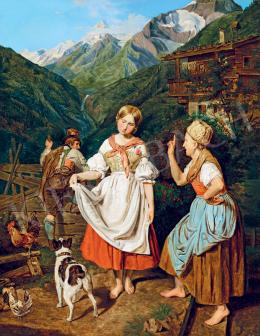 Benczúr, Gyula - Meeting (Scene), 1866