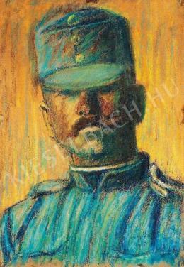Nagy István - Katonafej, 1915