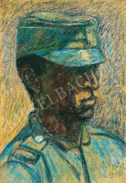 Nagy István - Öreg népfölkelő, 1916