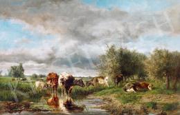 Bilders, Albertus Gerardus - Cows Grazing