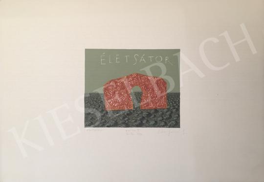 Eladó Stefanovits Péter - Életsátor, 1996 festménye