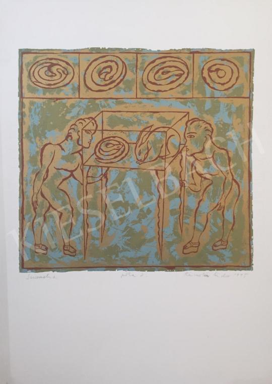 Eladó  Rácmolnár Sándor - Szimmetria, 1995 festménye