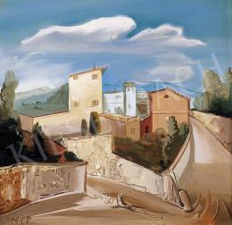 Molnár C. Pál - Olasz táj