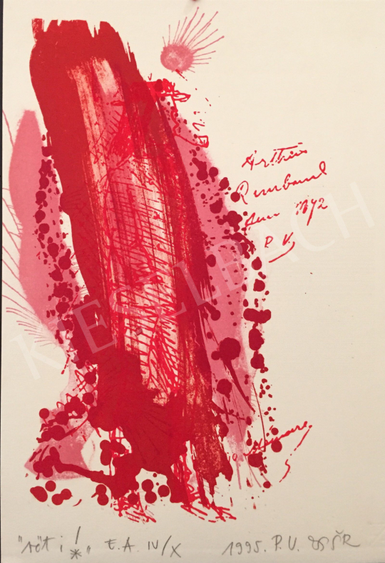 For sale  Swierkiewicz, Róbert - Red I, 1995 's painting