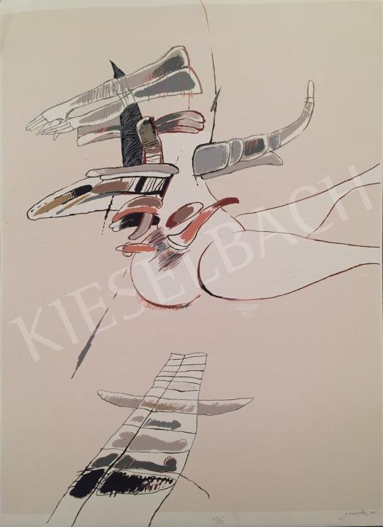 Eladó Damó István - Repülők, 2001 festménye