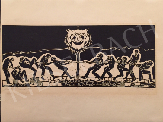 For sale Szilágyi, Imre - Tug of War, 1972 's painting