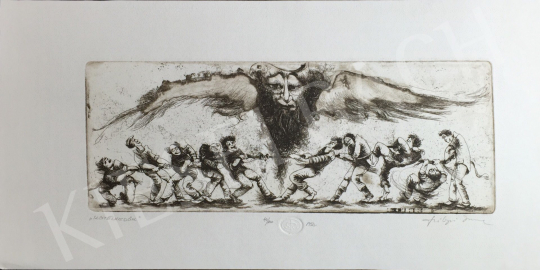 For sale Szilágyi, Imre - Tug of War, 1992 's painting
