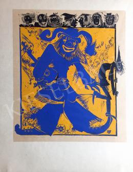 Szilágyi, Imre - Clown, 1982