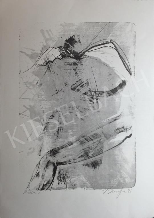 Eladó  Frederick D. Bunsen - Kompozíció, 1996 festménye