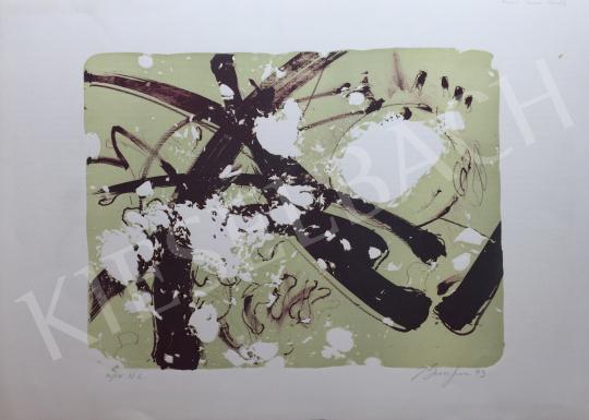 Eladó  Frederick D. Bunsen - Kompozíció, 1993 festménye
