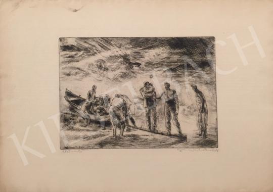 For sale Aszódi Weil, Erzsébet (Weil Erzsébet) - Life-saver 's painting