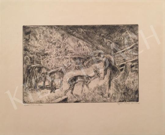Eladó  Aszódi Weil Erzsébet - Rezervátumban festménye