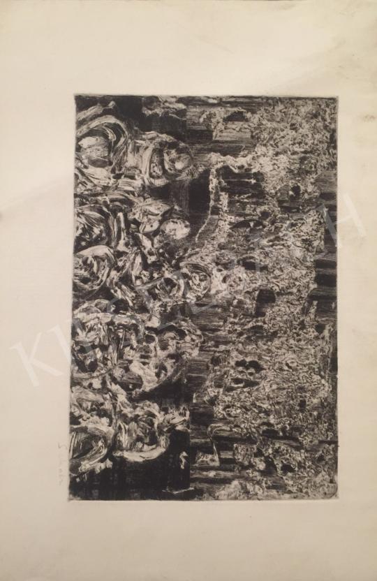 Eladó Scholz Erik - Gyászolók festménye