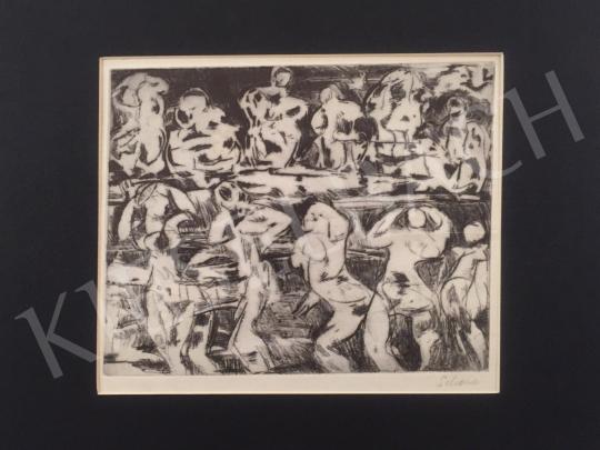 Eladó Scholz Erik - Fürdöző nők festménye