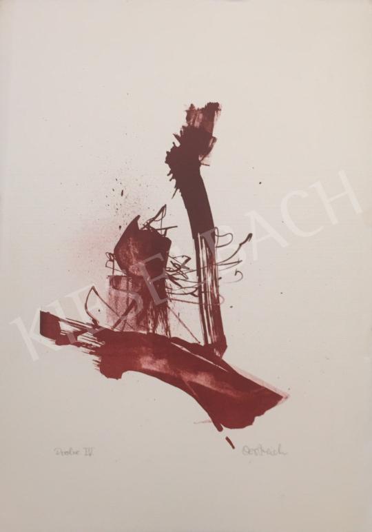Eladó  Ismeretlen művész Oestreich szignóval - Próba IV., 1996 festménye