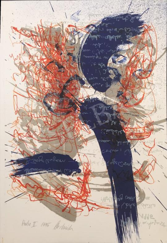 Eladó  Ismeretlen művész Oestreich szignóval - Próba II., 1995 festménye