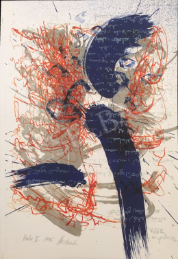 Unknown Artist with Oestreich Signature - Test II., 1995