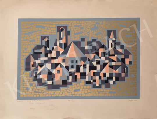 For sale Hegyi, György (Schönberger György) - Szentendre in Gold, 1986 's painting