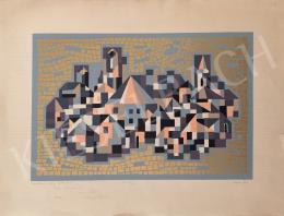 Hegyi György - Szentendre arany hintéssel, 1986