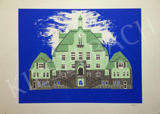 For sale Hegyi, György (Schönberger György) - Castle 's painting