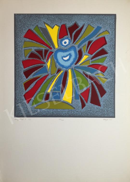 For sale Hegyi, György (Schönberger György) - Glasswindow II., 1995 's painting