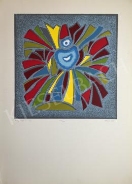 Hegyi, György (Schönberger György) - Glasswindow II., 1995