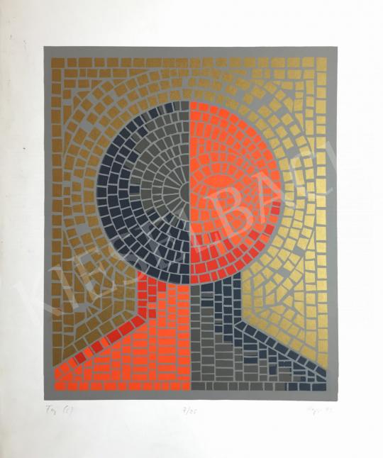 For sale Hegyi, György (Schönberger György) - Head, 1992 's painting
