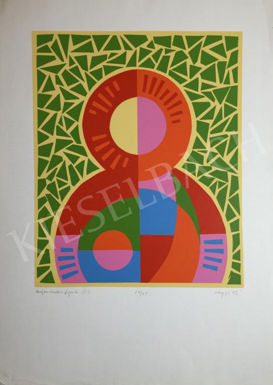 For sale Hegyi, György (Schönberger György) - Gingerbread Figure, 1992 's painting