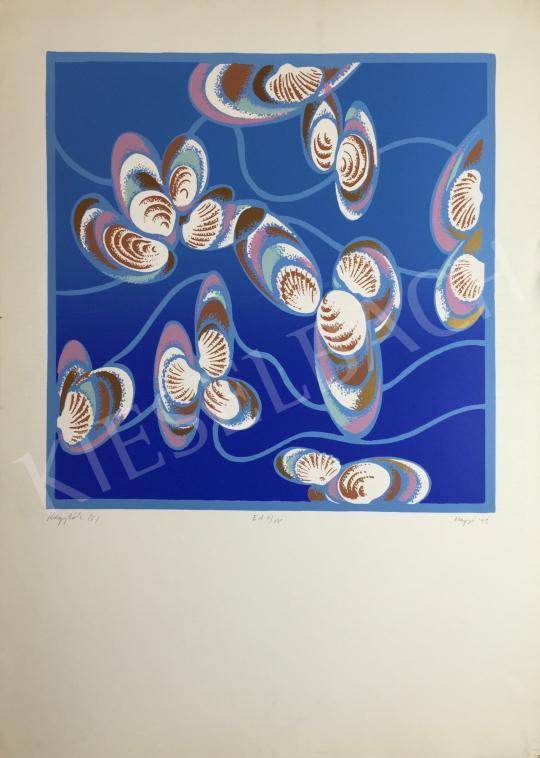 For sale Hegyi, György (Schönberger György) - Shells, 1993 's painting