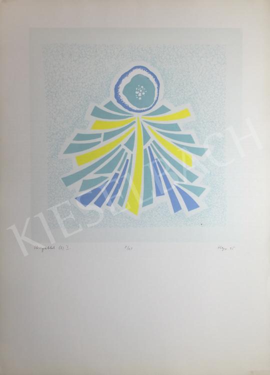 Eladó Hegyi György - Üvegablak I., 1995 festménye