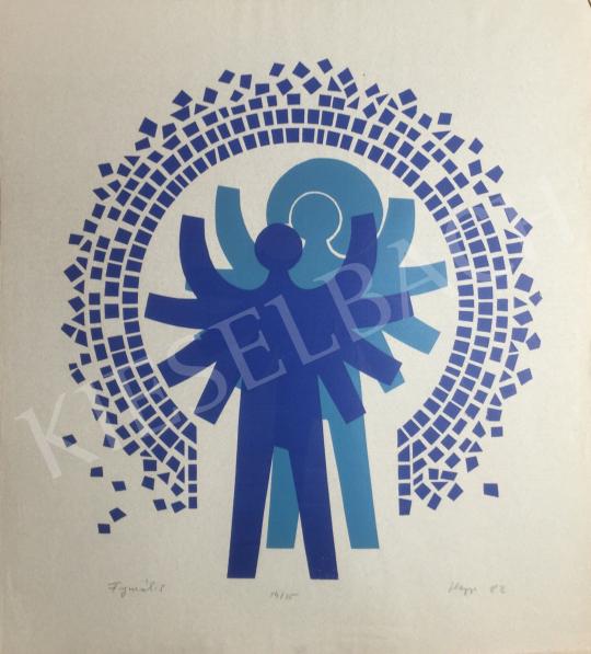 Eladó Hegyi György - Figurák, 1982 festménye
