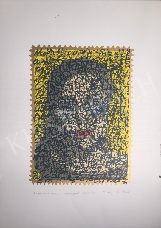 Eladó Szőnyi Krisztina - Bélyeglevél No.1., 1998 festménye
