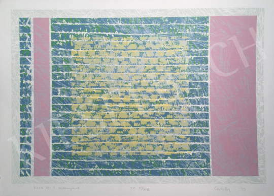 For sale  Győrffy Sándor - Garden No.1, 1999 's painting