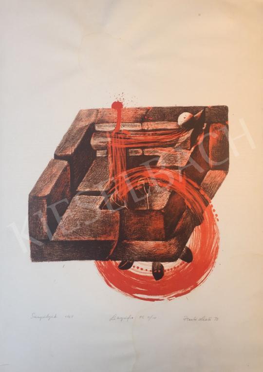 For sale Zsankó, László - Course No.-Quintet, 1993 's painting