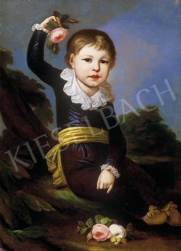 Stunder, János Jakab - Portaits of a boy (a pair)