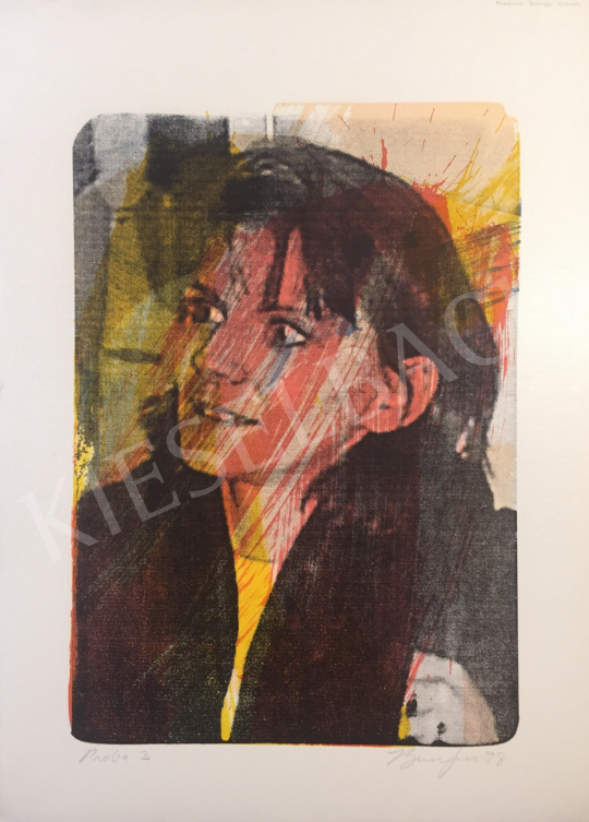 Eladó  Frederick D. Bunsen - Próba 3., 1998 festménye