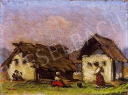 Mikola, András - Gipsy shanties in Nagybánya