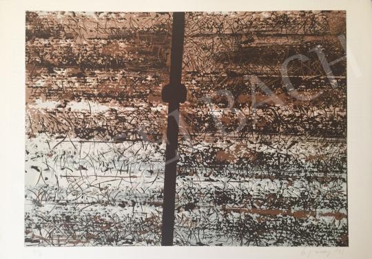 Eladó Ujvárossy László - Cím nélkül, 1996 festménye