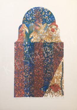 Csikós, Tibor - Process with Ornament and Figures 01., 2001